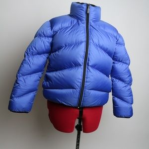 DKNY Down Puffer Jacket Blue Size XS